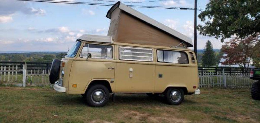 1978 Volkswagen Westfalia Camper Pop Top
