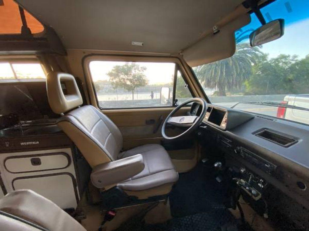 1985 Volkswagen Westfalia Dash
