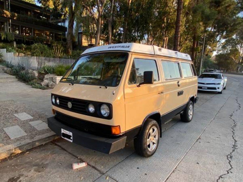 1985 Volkswagen Westfalia Front