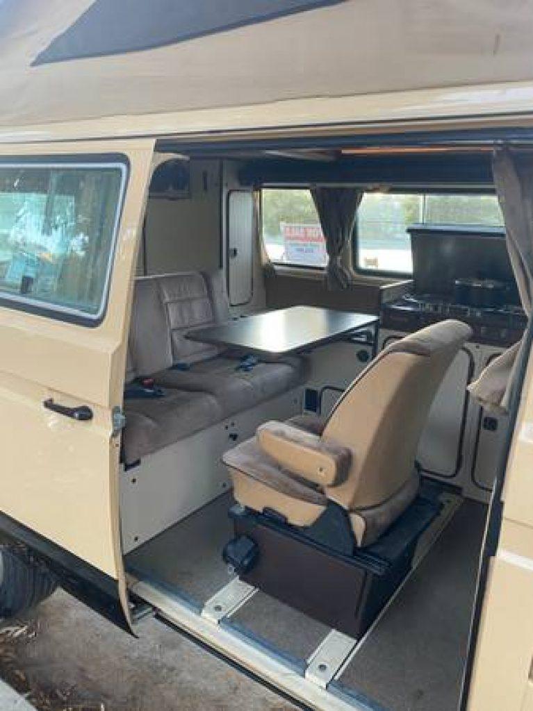 1985 Volkswagen Westfalia Interior Reverse Seat