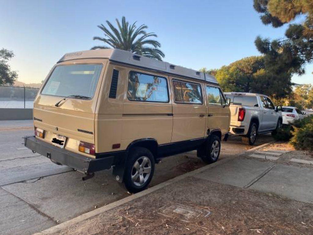 1985 Volkswagen Westfalia Rear